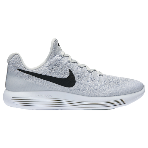 nike lunarepic low flyknit 2 womens running shoes white black pure platinum wolf grey
