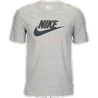 Nike Graphic T-Shirt - Men's - Grey / Pink