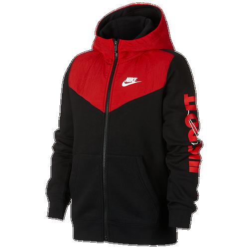 Nike Just Do It Full-Zip Hoodie - Boys  Grade School.  55.00. Main Product  Image 00c05064c