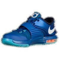 Nike KD 7 - Boys\u0027 Grade School - Blue / Silver