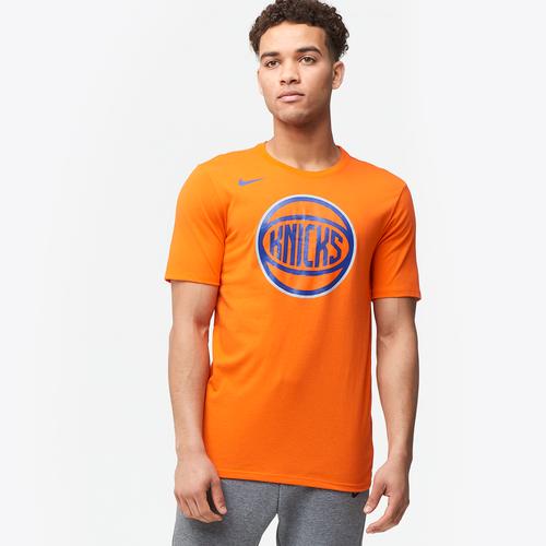 nike nba logo t shirt men 39 s clothing new york knicks. Black Bedroom Furniture Sets. Home Design Ideas