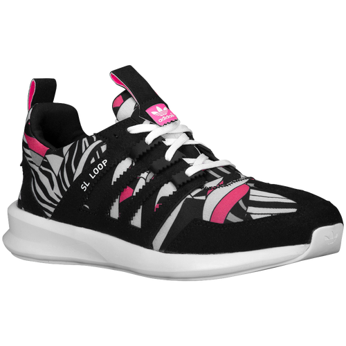 hot sale online 5a299 54753 adidas Originals SL Loop Runner Womens Running Shoes Black Butterfly White  high-quality