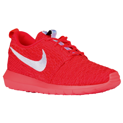 9bb78696a1a09 delicate Nike Roshe Flyknit Mens Running Shoes Bright Crimson University Red  White