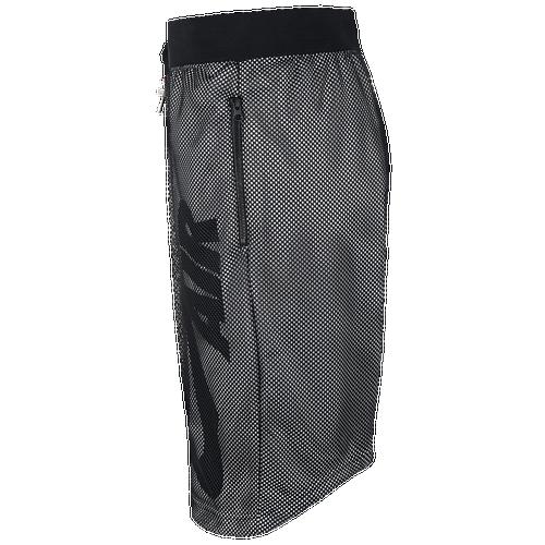 550c8419466 Nike Air Pivot V3 Mesh Shorts Mens Casual Clothing Black/White/Black ...