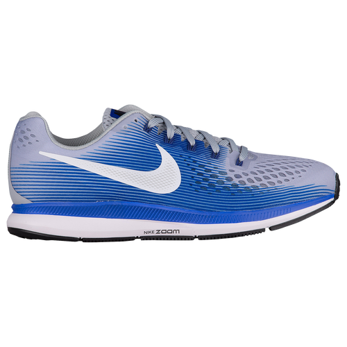 uk availability 63601 99877 Nike Air Zoom Pegasus 34 Mens Running Shoes Wolf Grey White Racer Blue  durable modeling