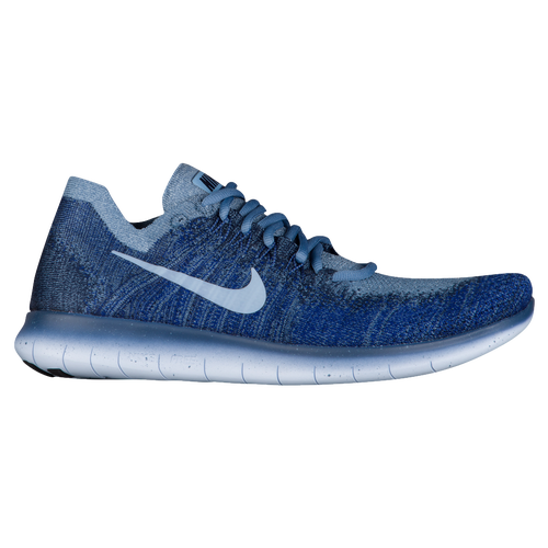timeless design 71f86 071d8 ... Nike Free RN Flyknit 2017 - Mens - Navy Grey ...