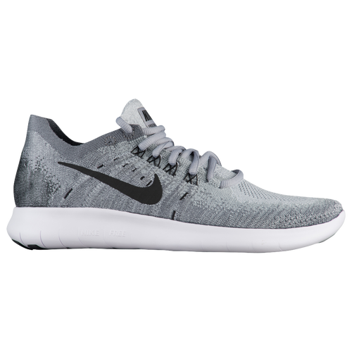 nike shoes white and grey. nike free rn flyknit 2017 - women\u0027s running shoes wolf grey/black anthracite/cool grey/volt white and grey 7