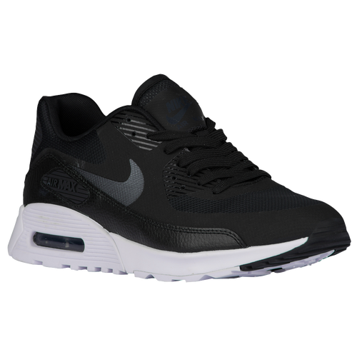 Nike Air Max 90 Ultra 2.0 - Women's - Casual - Shoes - Black/Metallic  Hematite/White/Black