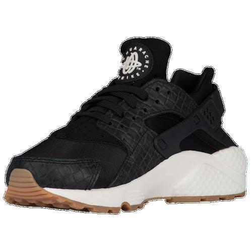 size 40 06287 d1ab7 Nike Air Huarache Womens Running Shoes BlackBlackSailGum Med Brown outlet