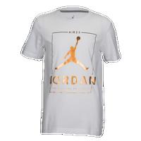Jordan OG 23 T-Shirt - Boys  Grade School - White   Gold 19ecf95acc86