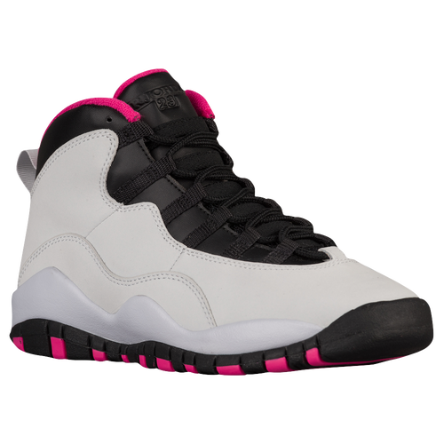 Michael Jordan retired suddenly before his Air Jordan 9 hit the streets, but that didn't halt any plans to continue his signature line. The lightweight Air Jordan 10 arrived as a tribute to Jordan and was lined with his accomplishments on the sole. The homage proved to be premature, however, as Jordan wasn't actually done with basketball.
