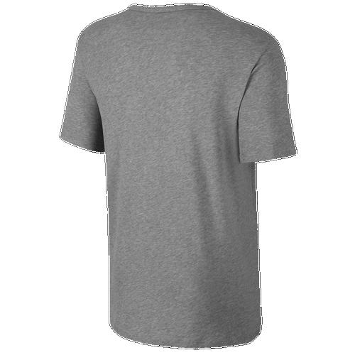 8942c820e Nike Futura Icon T-Shirt - Men's - Casual - Clothing - Dark Grey Heather/ Black