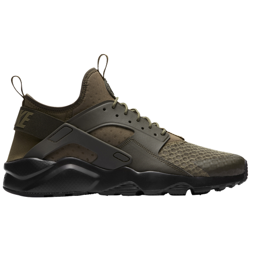 76fb9896898 ... closeout nike air huarache run ultra mens casual shoes medium olive cargo  khaki black 02d7f 2a4d5