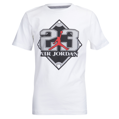 Jordan Retro 9 Diamond T Shirt Boys Grade School Basketball