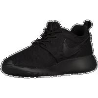 super popular 2c0d1 ff784 ... roshe run champs  Nike Roshe One - Boys  Grade School - All Black    Black ...