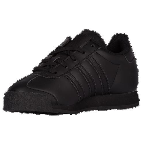 adidas Originals Samoa Boys Grade School Training Shoes Black Black Bold  Onix new 21d33facc3