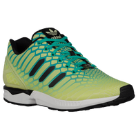 adidas Originals ZX Flux - Men's - Light Green / Black