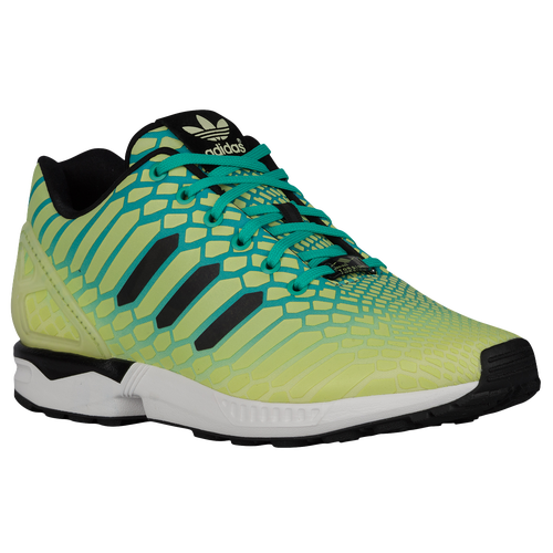 adidas Originals ZX Flux - Men's - Casual - Shoes - Frozen Yellow/Shock Mint/White