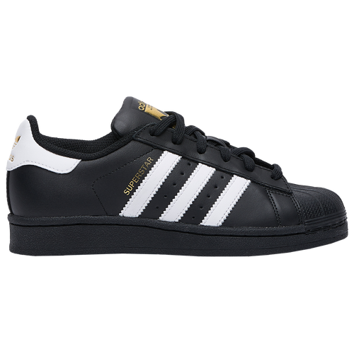 adidas shoes superstar. adidas originals superstar - boys\u0027 grade school basketball shoes black/white/black