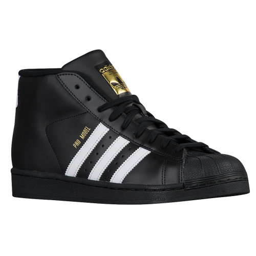 adidas Originals Pro Model - Men's - Casual - Shoes - Black/White/Gold  Metallic
