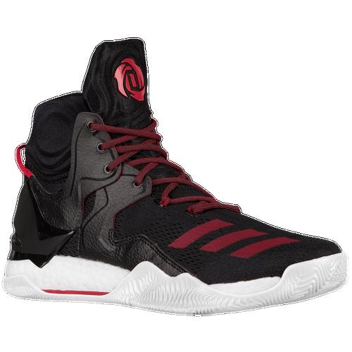 half off 7199e 26845 ... wholesale adidas d rose 7 mens basketball shoes rose derrick black  scarlet good 8e05d ea803