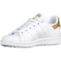adidas Originals Stan Smith - Boys\u0027 Grade School - White / Gold