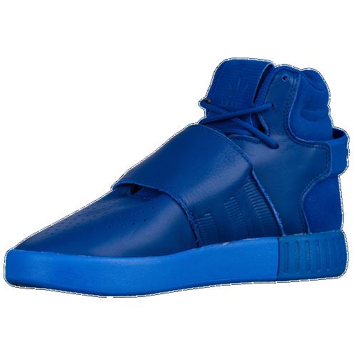 adidas tubular invader strap blue