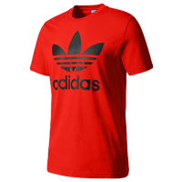 Adidas Colorblock Trefoil Tee Grey Red Printable Coloring