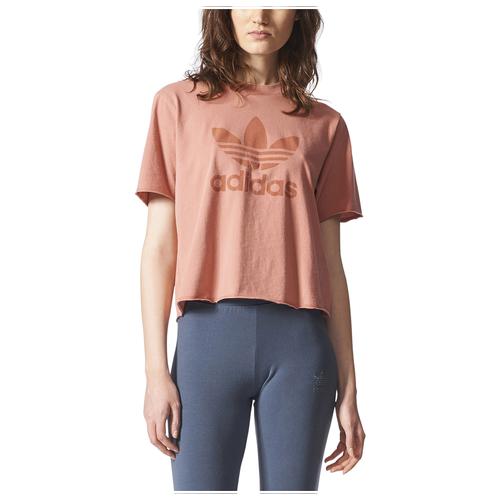 Adidas originals tubular chicago raw edge t shirt women for Raw edge t shirt women s