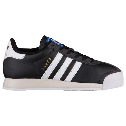 adidas Originals Samoa - Boys' Grade School - Training - Shoes - Black/White /Talc