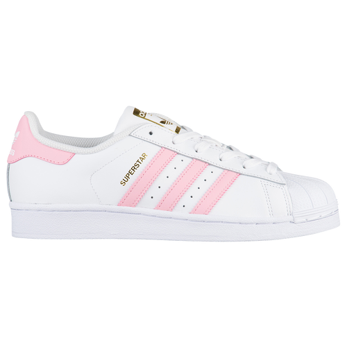 adidas Originals Superstar - Girls Preschool - Casual - Shoes -  WhiteLight PinkMet Gold