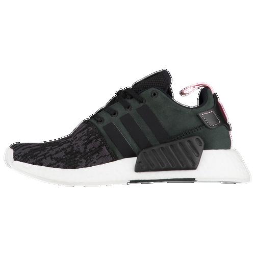 adidas Originals NMD R2 Womens Running Shoes Black Black Wonder Pink 85%OFF bc7ff1b22