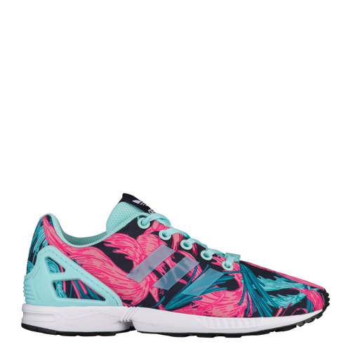 adidas Originals ZX Flux - Girls Preschool - Running - Shoes - Energy Aqua Energy AquaWhite