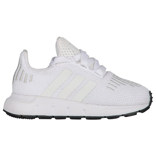 adidas Originals Swift Run - Boys' Toddler - Casual - Shoes - White/Crystal  White/Black