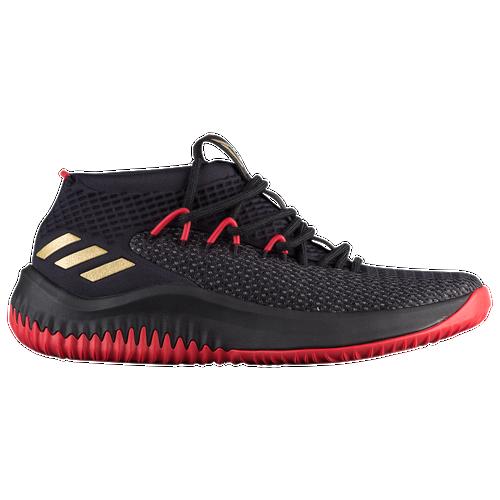 cbf821da39fa ... coupon code for adidas dame 4 mens basketball shoes lillard damian  black gold scarlet fe998 5a1b4