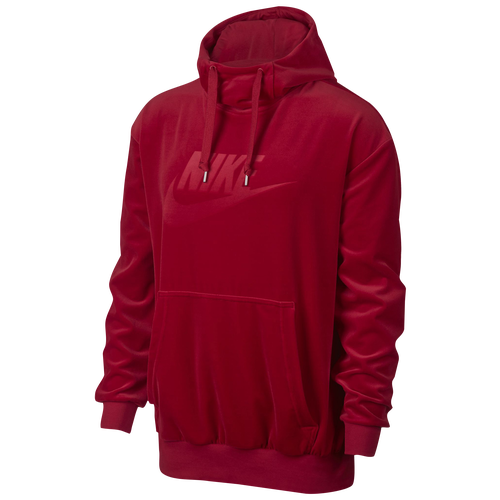 Nike Velour Pullover Hoodie - Men's - Casual - Clothing ...