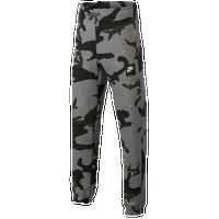 Nike Camo Club Jogger - Boys' Grade School - Grey / Black