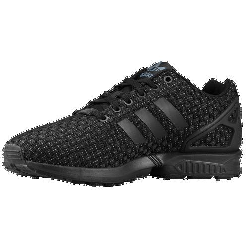 50%OFF adidas Originals ZX Flux Mens Running Shoes Black Black Solar Yellow a1b1214fa2