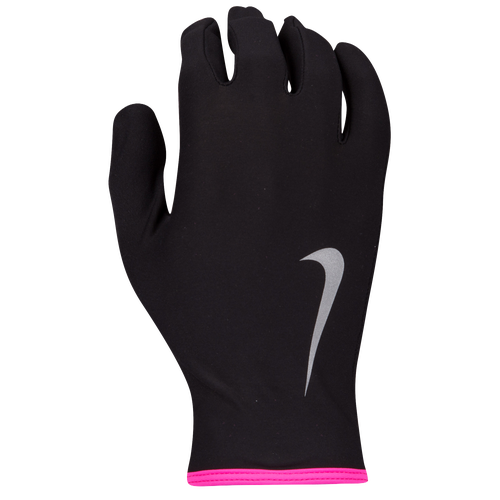buy online 1f827 c5e6b Nike Lightweight Thermal Rival 2.0 Run Gloves Womens Running Accessories  Black Hyper Pink Silver