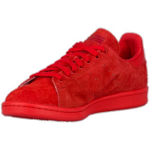 cdfab0b91e7 60%OFF adidas Originals Stan Smith Mens Casual Shoes Red Red ...