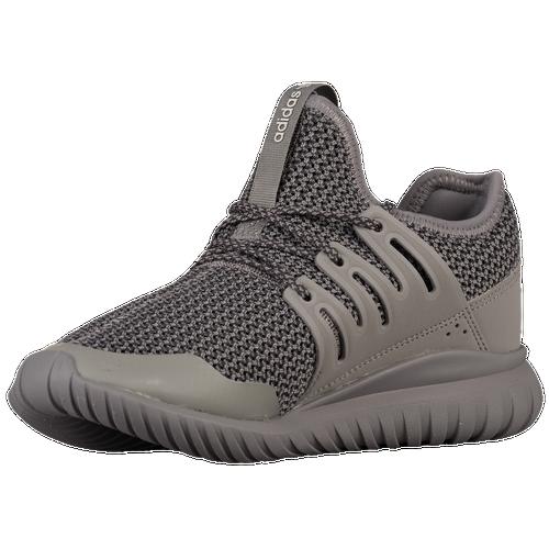abab4b0b81f1 hot sale 2017 adidas Originals Tubular Radial Boys Grade School Running  Shoes Solid Grey/Solid
