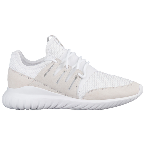 c2e9db9e6636 low-cost adidas Originals Tubular Radial Mens Running Shoes  White White White