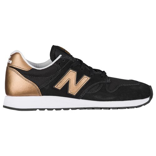 new balance 520 women 39 s running shoes black copper metallic. Black Bedroom Furniture Sets. Home Design Ideas