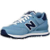 womens navy blue new balance 574